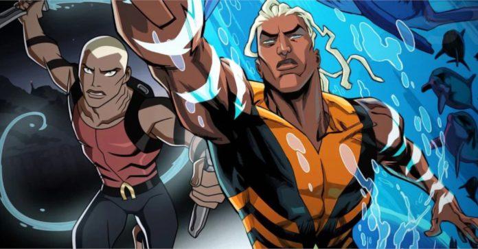 Aqualad do Young Justice se torna o novo Aquaman no futuro de DC