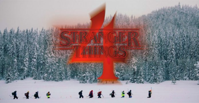 Stranger Things Set Photos estreia o novo personagem punk rock da quarta temporada