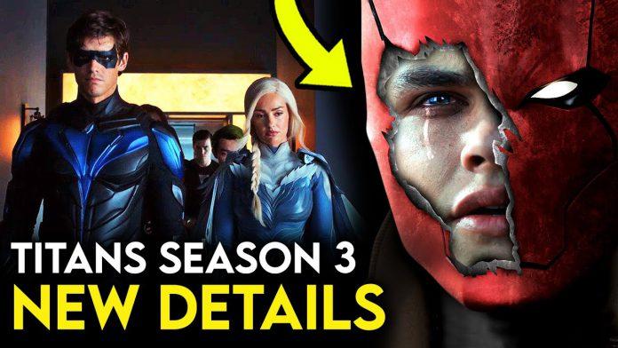 Titans Season 3 mostra a chegada de Red Hood no primeiro trailer