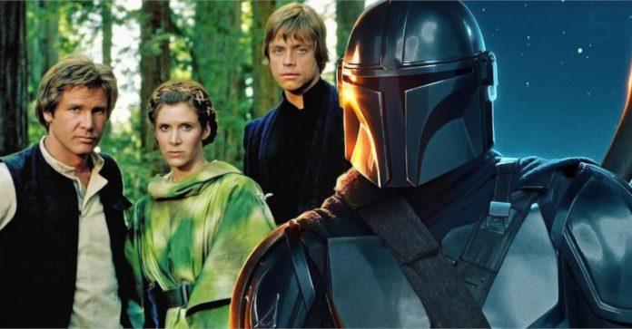 Onde estão os personagens da trilogia original de Star Wars durante o Mandalorian