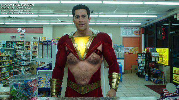 Shazam! O diretor faz piadas sobre uma mudança de figurino para DC Hero e não podemos olhar para longe