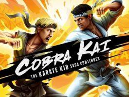 Liberado o primeiro trailer do jogo Cobra Kai The Karate Kid Saga Continues