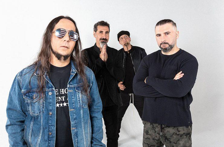 System Of A Down esta de volta após 15 anos sem lançar músicas inéditas