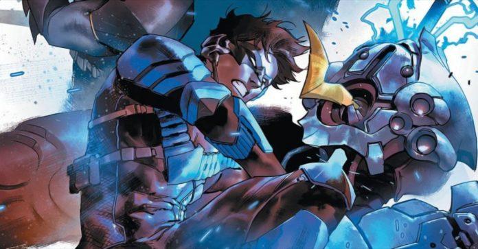 A futura equipe de heróis de Nightwing inclui Duas-Caras