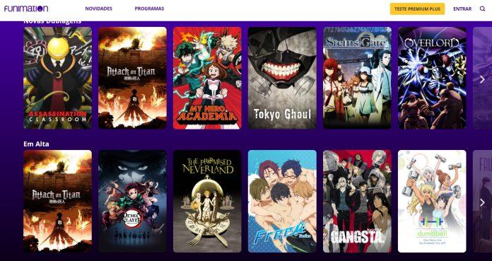 A plataforma Funimation já está disponível no Brasil!
