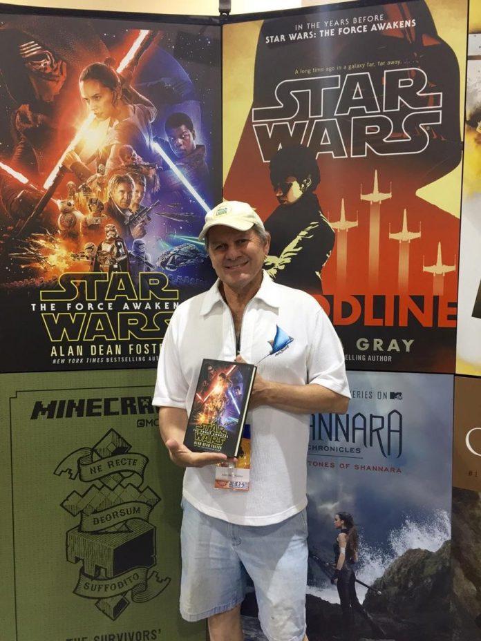 Disney se recusa a pagar royalties para a lenda de Star Wars Alan Dean Foster