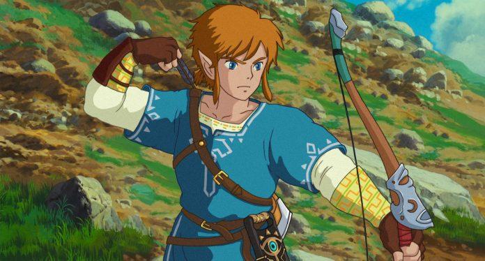 'The Legend of Zelda' o retorno do anime com o Studio Ghibli Crossover