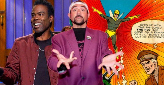 Kevin Smith foi convidado a dirigir um filme de super-herói estrelado por Chris Rock nos anos 2000