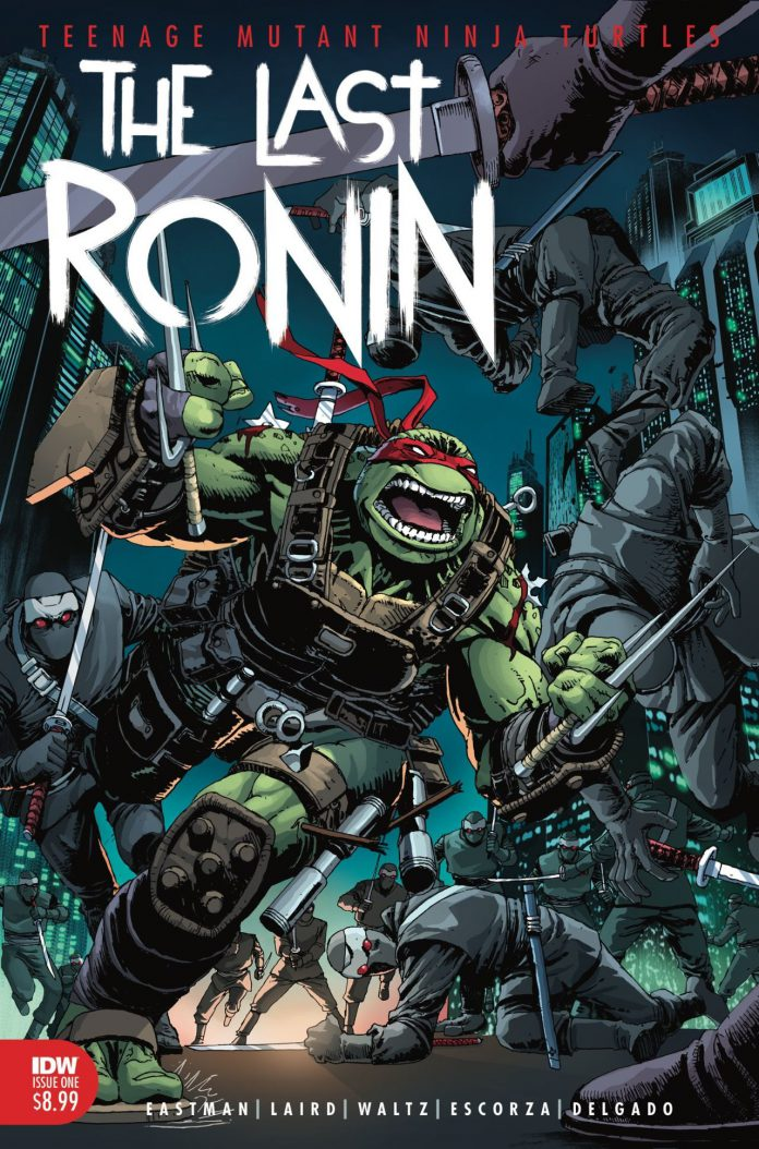 Eastman e Laird's Teenage Mutant Ninja Turtles: The Last Ronin terá uma segunda tiragem