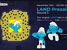 The Sandbox traz o mundo dos Smurfs para sua plataforma online