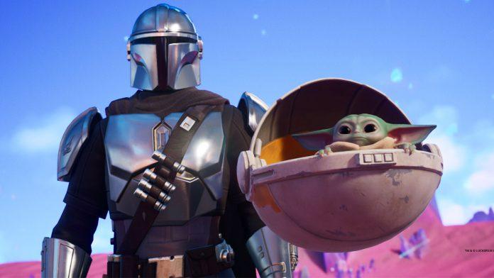 Como desbloquear o bebê Yoda do Mandalorian em Fortnite