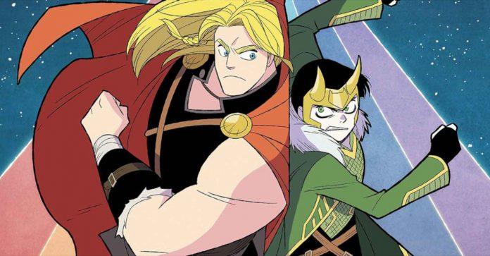 Thor e Loki apresentam problemas em dobro na nova série da Marvel
