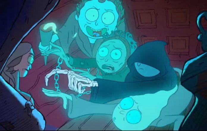 Rick não tem medo de fantasmas na nova promo de férias