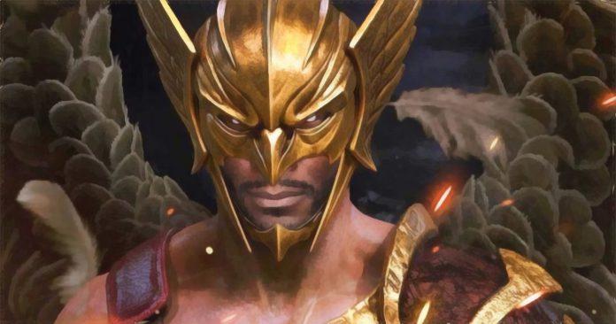 O ator de Hawkman Aldis Hodge: Está lendo muitos quadrinhos da DC para se preparar para Adão Negro (Black Adam)