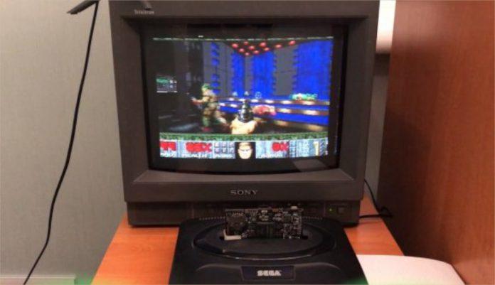 Aqui está Doom realmente sendo jogado no Mega Drive SEGA Genesis