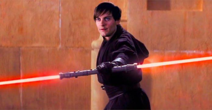 Emo Homem-Aranha duela com Obi-Wan Kenobi e Qui-Gon Jinn no vídeo Histérico de Crossover