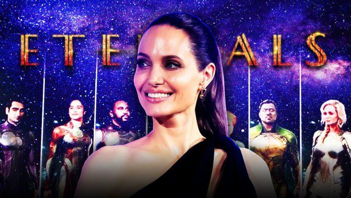 MCU Eternals Vazamento revela fantasias para o personagem da Marvel de Angelina Jolie e outros heróis
