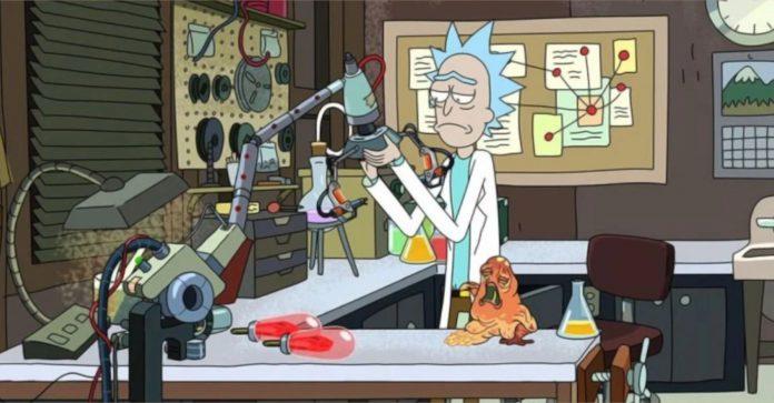 10 coisas que você nunca notou sobre a garagem de Rick e Morty