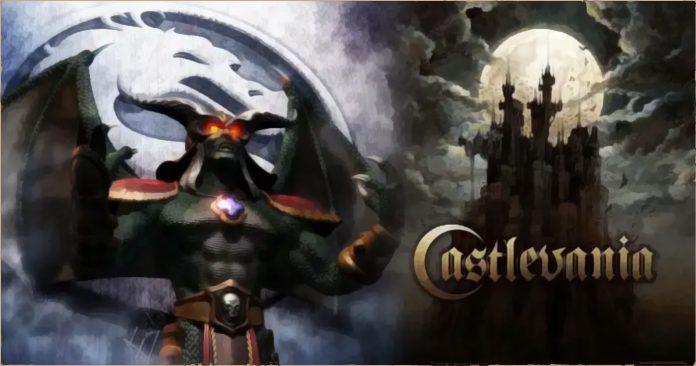 O renascimento de Onaga em um torneio temático de 'Castlevania encontra Mortal Kombat' foi um conceito potencial para o modo de história de Mortal Kombat 11