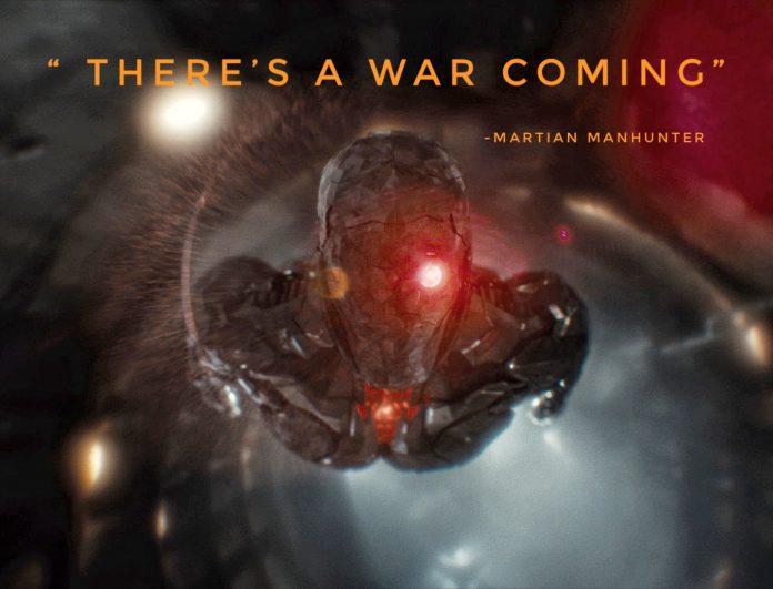 Martian Manhunter 'Caçador de Marte' tem um aviso em uma nova foto da Liga da Justiça de Zack Snyder
