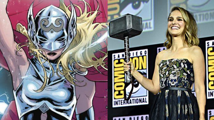 Thor: Amor e Trovão Jane Foster pode ser a personagem-título