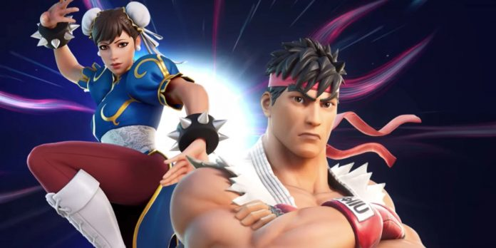Fortnite confirma Ryu e Chun-Li de Street Fighter após vazamento
