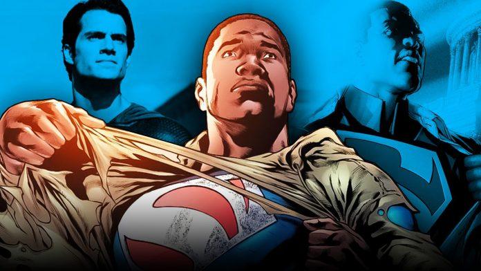 Alegadamente a Warner Bros. quer um Superman Negro o reboot do filme de super-herói