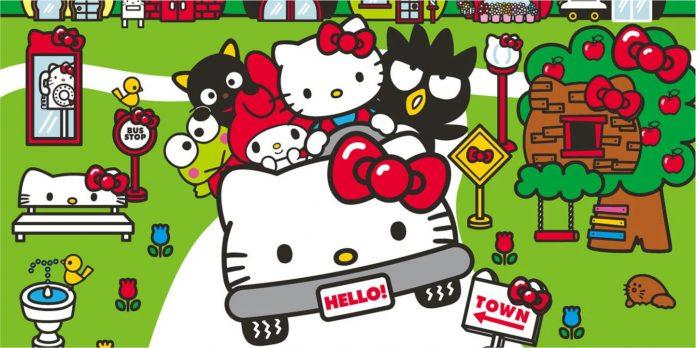 Diretores de cenários de filmes animados e live-action híbridos da Hello Kitty
