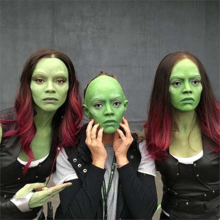 James Gunn revela máscaras de Gamora não utilizadas (são perturbadoras)