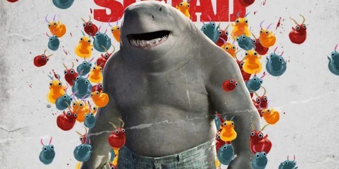 Por que o esquadrão suicida de James Gunn abandonou o visual do King Shark's Hammerhead