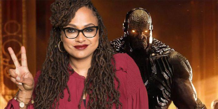 New Gods Diretora Ava DuVernay agradece ao ator Darkseid da Liga da Justiça pelo seu apoio