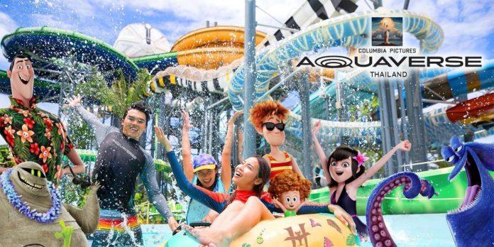 Sony entra na indústria de parques temáticos com Aquaverse da Columbia Pictures na Tailândia