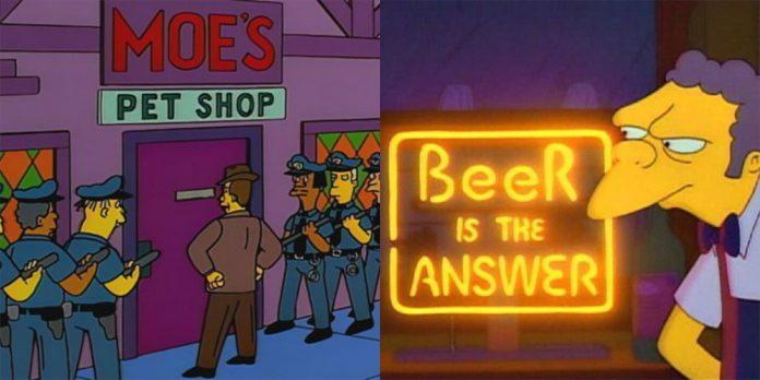 Os Simpsons: As 10 melhores reinvenções da taberna de Moe