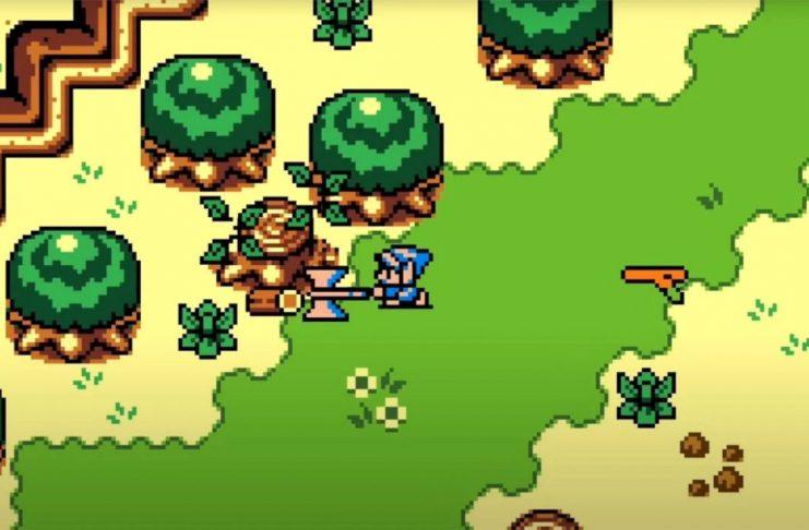 Zelda: Breath Of The Wild chega ao Game Boy Color em novo Demake