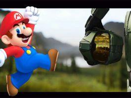 Halo no Instagram Postou Mario em Crossover Art: Será uma colaboração com a Nintendo?