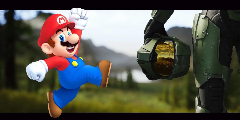 Halo no Instagram Postou Mario em Crossover Art: Será uma colaboração com a Nintendo? 1