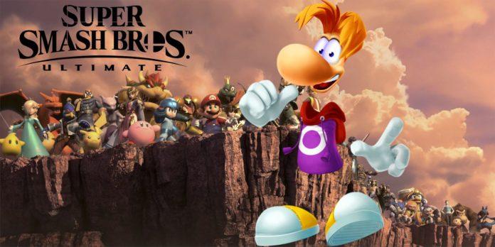 Solicitação de DLC de Smash Bros. Ultimate Rayman obtém resposta da Nintendo
