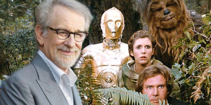 Foto de Star Wars mostra Steven Spielberg vestido de Darth Vader