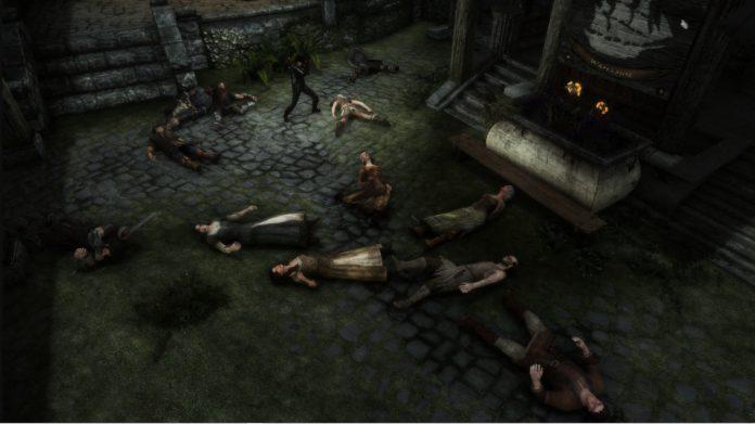 Um fã de Skyrim matou todos os NPCs e criaturas do jogo e agora vive em solidão