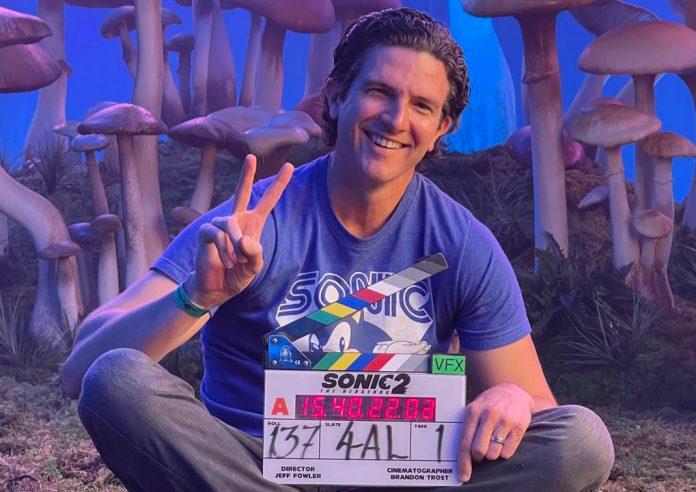 Filmagem de Sonic the Hedgehog 2 Diretor Jeff Fowler publica nova foto