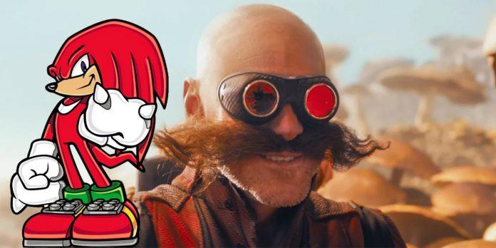 Sinopse do Sonic 2 confirma que Knuckles está trabalhando com Robotnik e História da Esmeralda do Caos