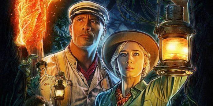 Dwayne Johnson compartilhou um novo pôster para o próximo filme de aventura da Disney,Jungle Cruise,para comemorar a resposta positiva que o último trailer do filme teve.