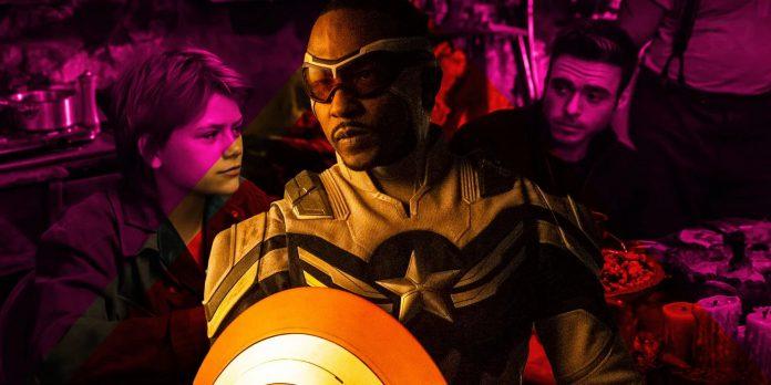 Eternals Teaser Trailer prova que o mundo sabe que Sam Wilson é o Capitão América