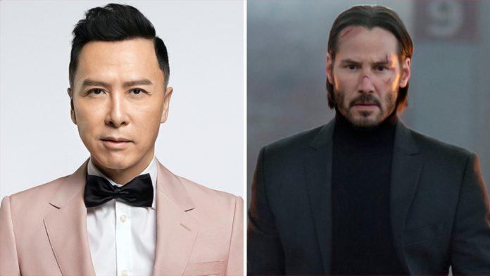 Donnie Yen junta-se a Keanu Reeves em 'John Wick 4' da Lionsgate