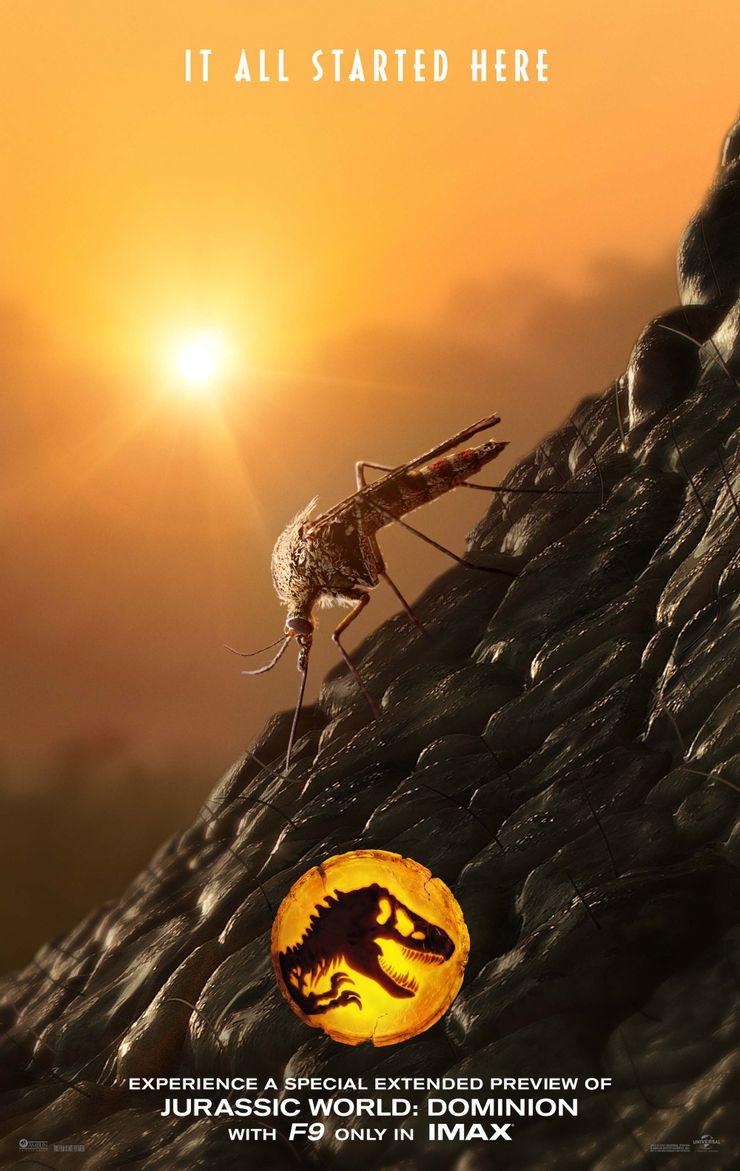 Jurassic World 3 provoca com novo pôster: Viaja de volta a 65 milhões de anos atrás 1