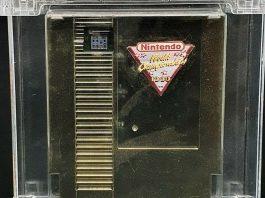 Cartucho dourado NES Nintendinho à venda por um milhão de dólares