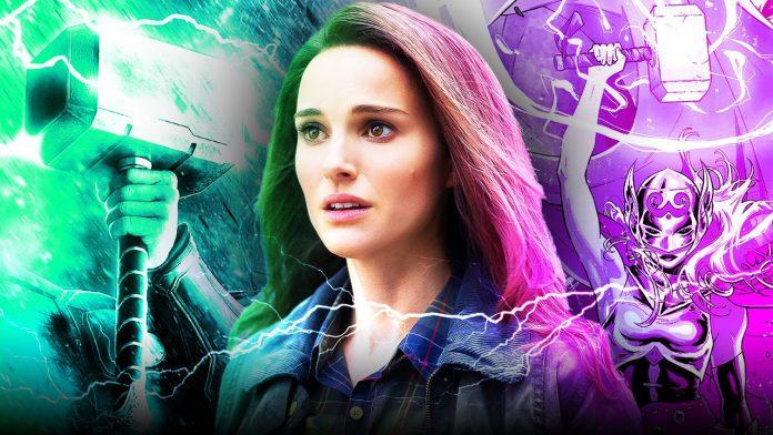A foto de Thor 4 indica como Jane Foster de Natalie Portman trará Mjolnir de volta