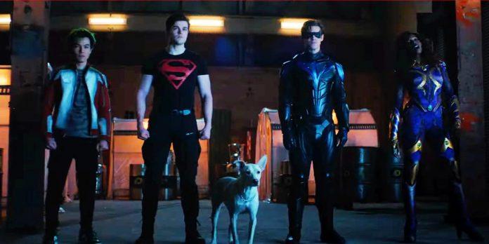 Trailer da terceira temporada do Titans provoca a transformação Jason Todd no Capus Vermelho