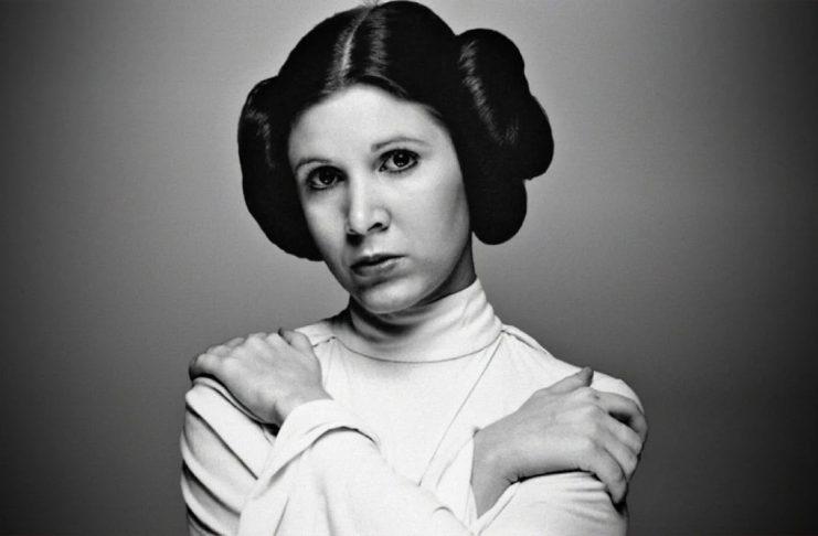 Carrie Fisher de Star Wars receberá estrela da Calçada da Fama em Hollywood
