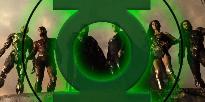 Zack Snyder compartilha a nova arte conceitual da Liga da Justiça do Lanterna Verde